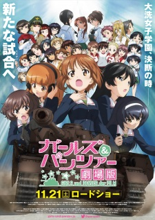 image of anime Girls und Panzer